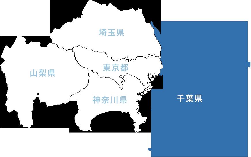 地図(千葉県)