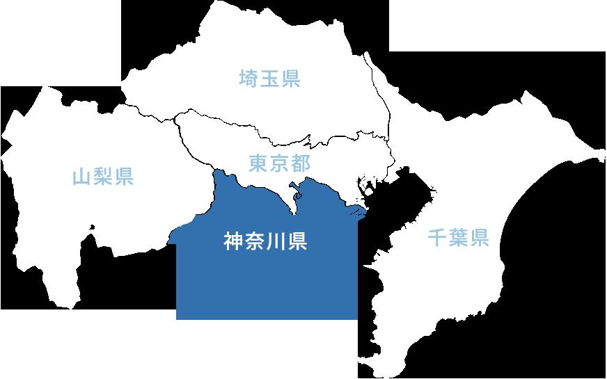 地図(神奈川県)