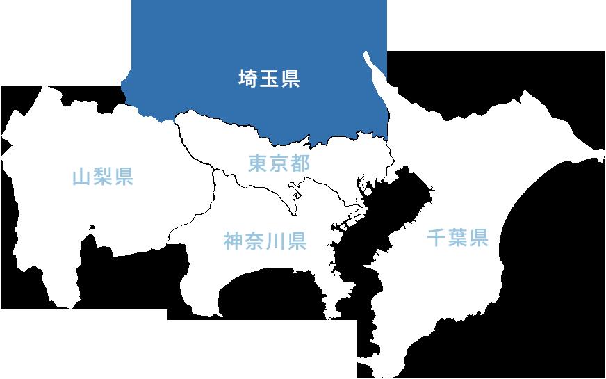 地図(埼玉県)
