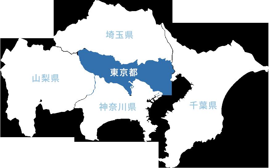 地図(東京都)