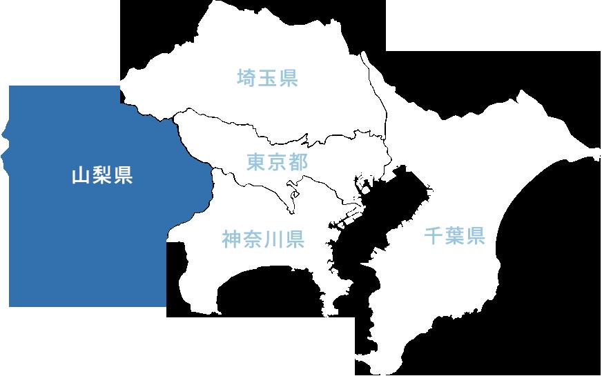 地図(山梨県)